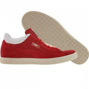 Puma Stepper Breakpoint (red perf / white)
