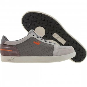 Puma Triple Double Low (grey violet / cloudburst / fluo orange)