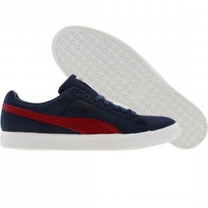 Puma Clyde x UNDFTD - Ripstop (insignia blue / rio red)