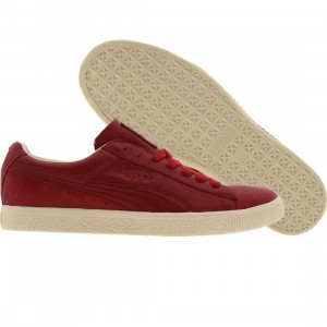 Puma Clyde Luxe (rubis)