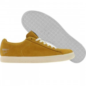 Puma Clyde X UNDFTD Luxe 2 - Stripe Off (tawny olive / whisper white)