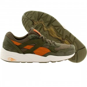 Puma Men Trinomic R698 Street (olive / burnt olive / russet orange)
