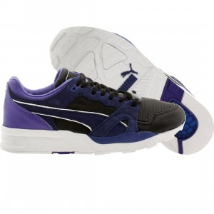 Puma Women Trinomic XT1 Plus Leather Perf (blue / limoges)