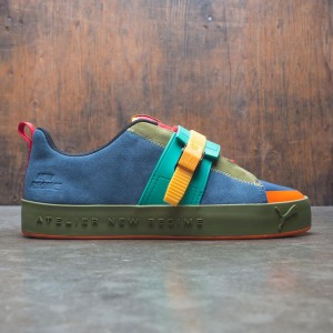 Puma x Atelier New Regime Men Court Platform Brace (blue / wing teal)