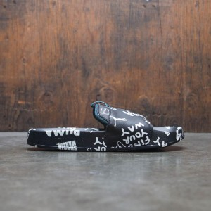 Puma x Shantell Martin Women Leadcat Graphic Slide (black / white / dragonfly)