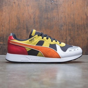 Puma x Roland Men RS-100 (black / orange / white)