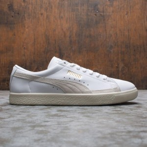 Puma Men Basket - Lux (white / white)