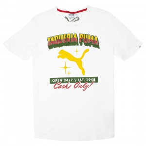 Puma Men Cash Tee (white)