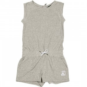 Poler Women Last Resort Terry Romper (gray / heather)