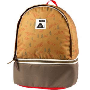 Poler Wildwood Backpack (brown / almond forest)