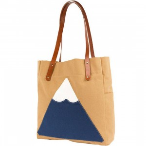 Poler Mountain Tote Bag (brown / almond)