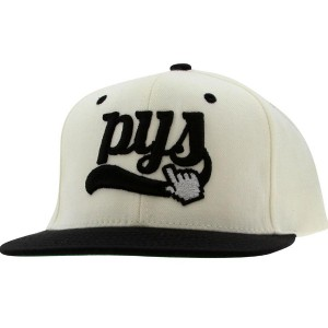 PYS Click Snapback Caps (natural / black)