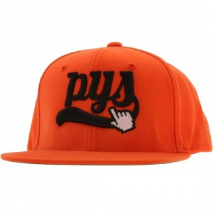 PYS Click Snapback Caps (orange)