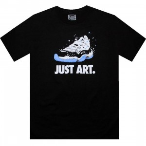 PYS Just Art Tee - Retro 11 Concord (black)