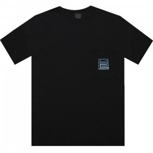 PYS.com Block Logo Pocket Tee (black) - PYS.com Exclusive