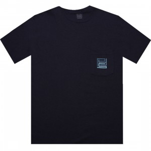 PYS.com Block Logo Pocket Tee (navy) - PYS.com Exclusive