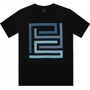 PYS.com Block Logo Tee (black) - PYS.com Exclusive