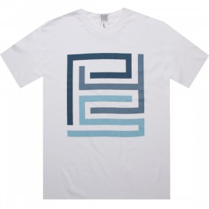 PYS.com Block Logo Tee (white) - PYS.com Exclusive