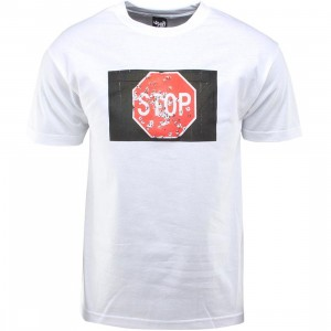 The Quiet Life Stop Sign Tee (white)