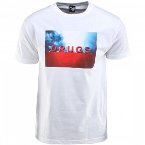The Quiet Life Drugs Tee (white)