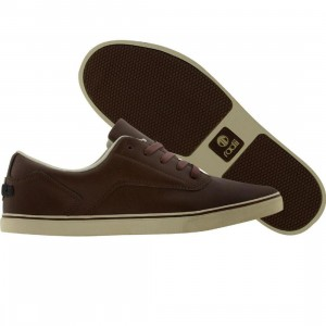 Radii Noble Low (brown leather / cream)