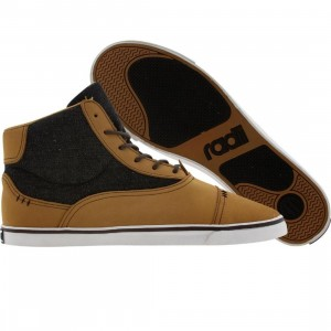 Radii Napoli Mid VLC (tan / black denim)