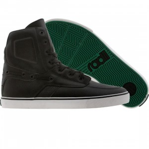 Radii Gilligan High (black / white / green)
