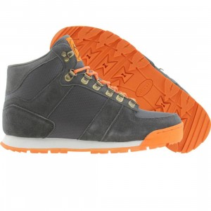 Radii McKinley (charcoal suede / orange)
