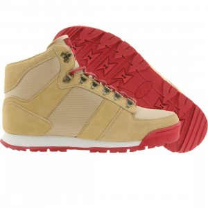 Radii McKinley (tan suede / red)