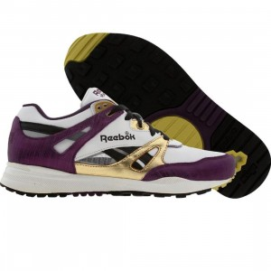 Reebok Womens Ventilator (white / gold / purple / black)