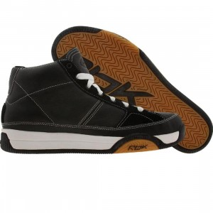 Reebok Big Kids RBK OG Mid (black / white / gum)