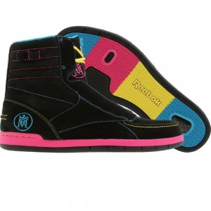 Reebok Carston Mid Affiliart - Ryan McGinness CMYK (black / blue / berry / yellow) - PYS.com Exclusive