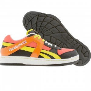 Reebok BB 5600 Low - Kolors (black / red / yellow / orange / white)