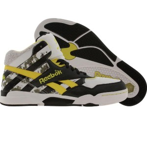 Reebok Reverse Jam Mid - Beetle Juice Edition (black / white / green / yellow)