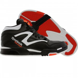 Reebok Pump Omni Lite OG Retro - Dee Brown (black / white / solar orange)