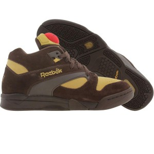 Reebok Court Victory Pump Rudy - Rudolph The Red Nose Raindeer (earth / golden wheat / rbk red)