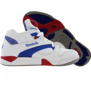 Reebok Court Victory Pump UNI (white / royal / crimson)