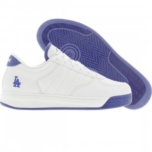Reebok Big Kids S Carter Bball Low - LA Dodgers (white / royal)