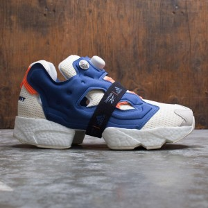 Reebok Men InstaPump Fury Boost (white / classic white / club blue / solar orange)