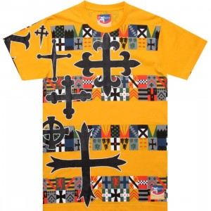Reebok x Rolland Berry London Cross Graphic Tee (orange)