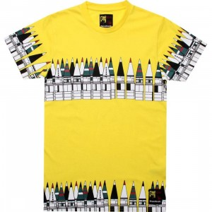 Reebok x Rolland Berry Moscow Graphic Tee (radar yellow)