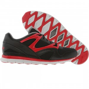 Reebok Omni Run (black / excellent red / grey / steel)