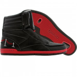 Reebok Carston Mid Affiliart - Ryan McGinness VIP (black / peppermint red / silver)