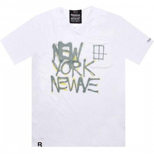Reebok Affiliart New Wave Tee - Basquiat (white)