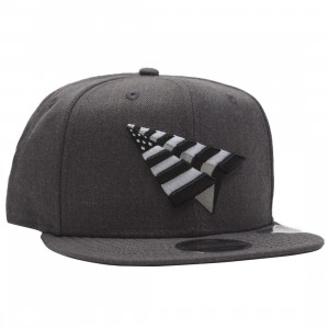 Paper Planes The Crown Snapback Cap (gray / dark charcoal)