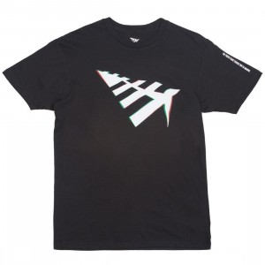 Paper Planes Men Projection Tee (black)