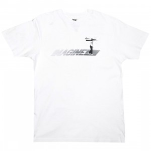 Paper Planes Men Imagination Runway Tee (white)