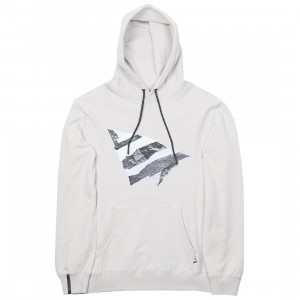 Paper Planes Men Rip and Repair Hoody (gray / silver)