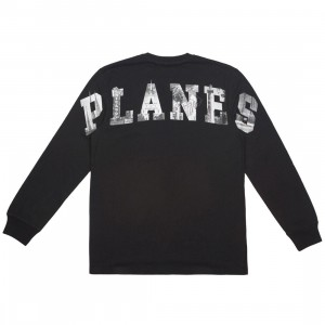 Paper Planes Men Home Long Sleeve Tee (black)