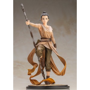 PREORDER - Kotobukiya ARTFX Artist Series Star Wars Rey Descendant Of Light Statue (tan)